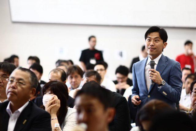 ☆ニッポン豆腐やサミット パッケージマーケティング講演セミナー風景 阿部拓歩氏撮影 (16)
