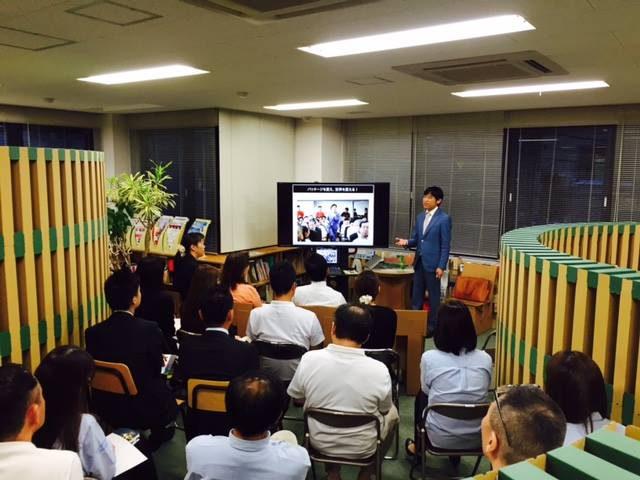 ペーパーワールドさんにて社内パッケージマーケティングセミナー講演 (11)