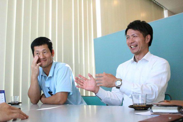 日高食品工業の八木美光さんと和田卓也 さんとパッケージマーケティング談話 今日は昆布 開発秘話 (9)