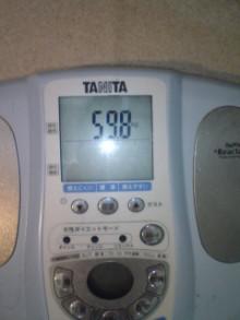 パッケージ松浦 のブログ-体重計