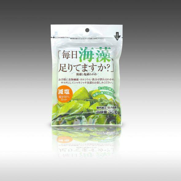 【「毎日 海藻足りてますか?」日高食品さんの新商品】<パッケージデザイン・制作のパッケージ松浦(四国徳島)>