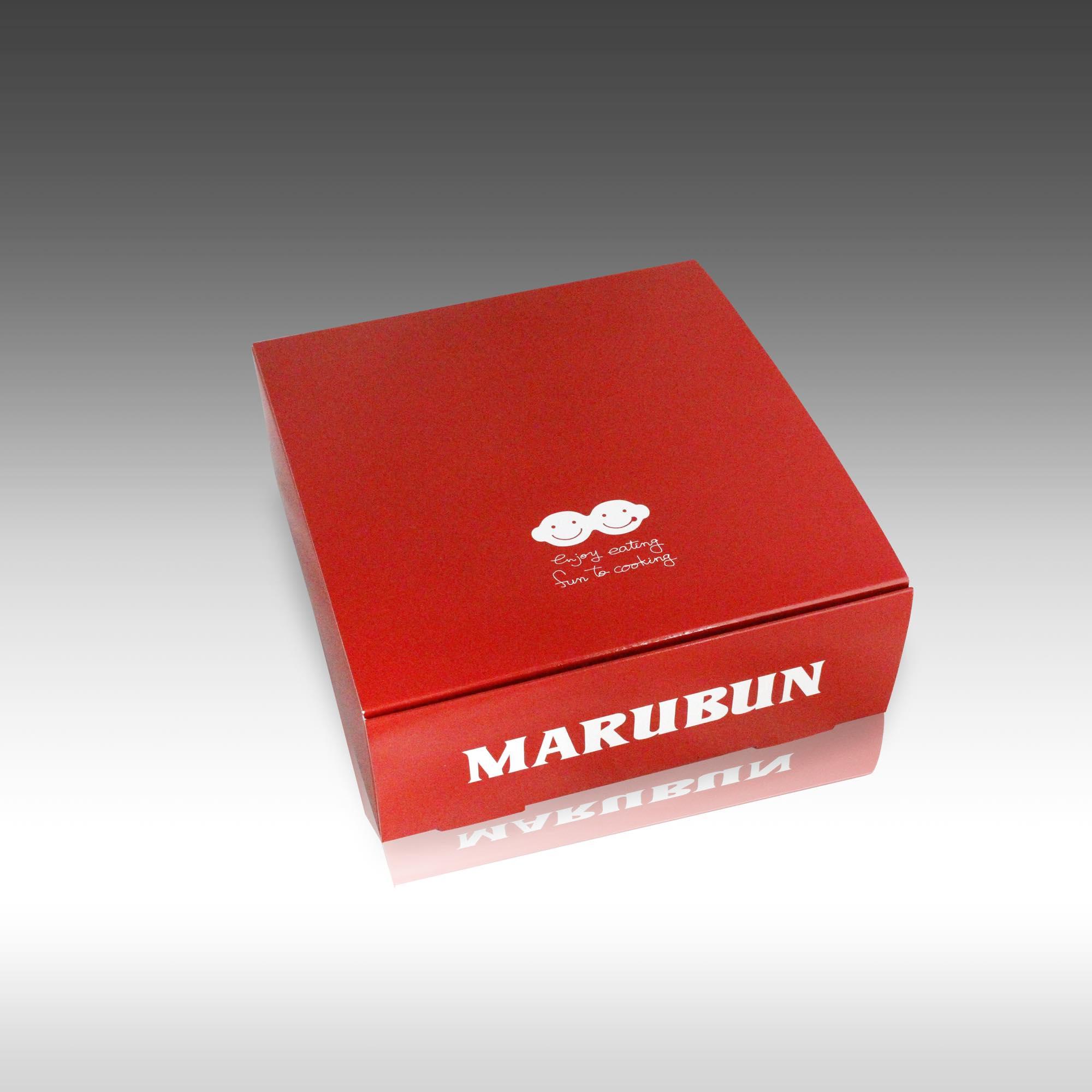 【ブランドを表現するマルブンさんの新しいケーキ箱!脳内にブランドが出来上がる!】
