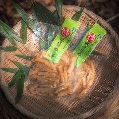 【目標38 村の豊かさを守ろう】~宮商店の「木樽で仕込んだ味付けめんま」~