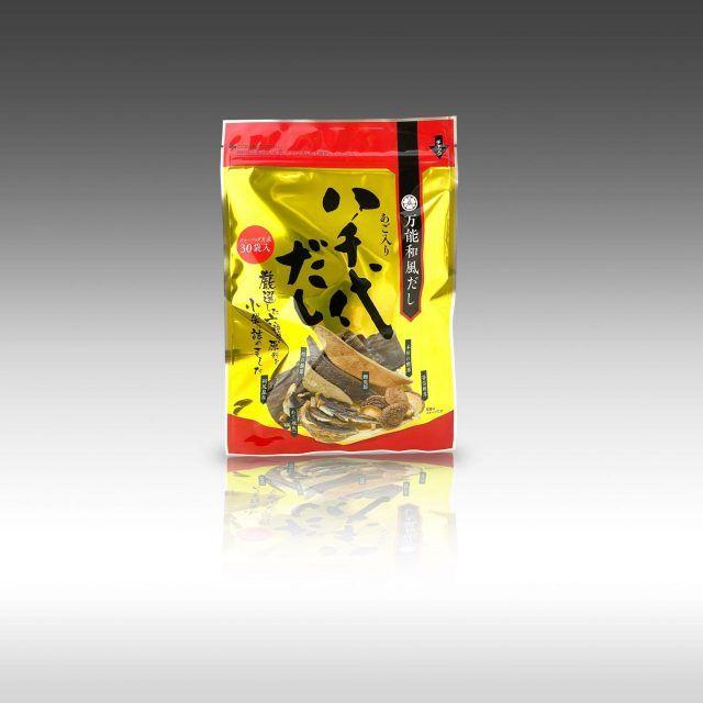 【メダルも商品も 金色に輝かそう】~八千代だしパッケージ~