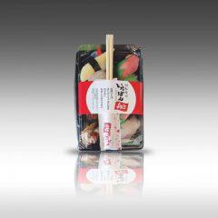 【特に「お寿司」にオススメ!テイクアウトパッケージに箸留めシール】