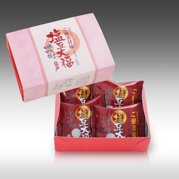 【徳島・四季乃菓子あわや宝泉堂さんが贈る 頑張るわたしのためのご褒美甘味 塩豆大福】