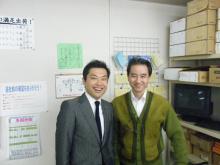 パッケージ松浦 のブログ-柳原社長と