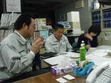 パッケージ松浦 のブログ-青木建設3名