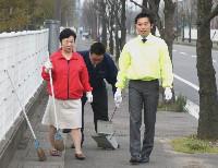 パッケージ松浦 のブログ-清掃風景
