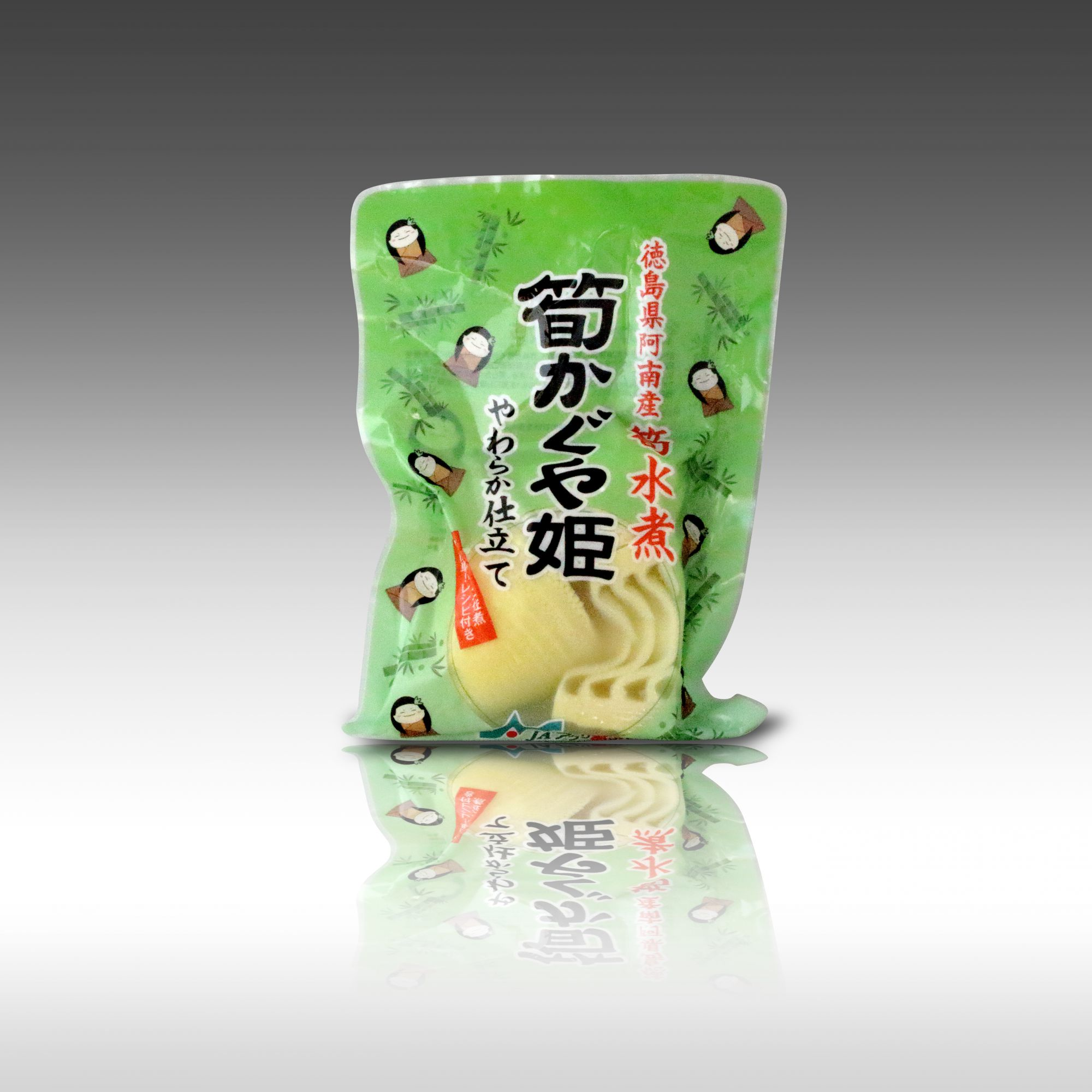【JAアグリあなん様 たけのこの水煮「筍かぐや姫」パッケージ開発】