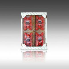 【うずしおベリー4パック入りパッケージ登場】~フルーツガーデンやまがたさんオリジナルブランド苺~