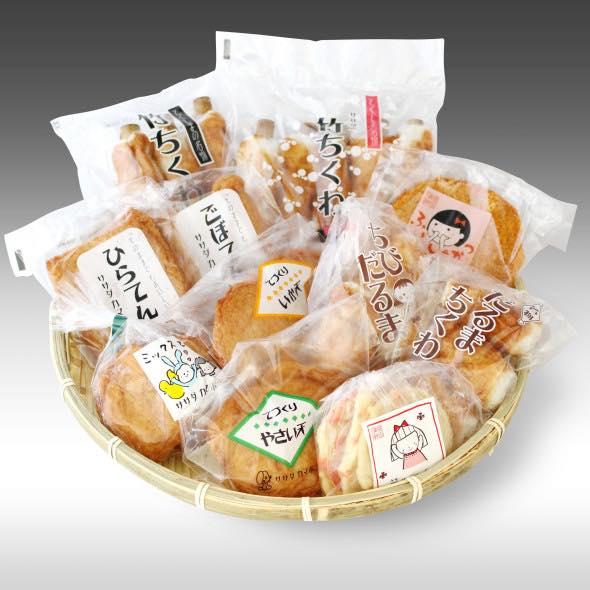 【なに?この可愛い蒲鉾は?!笹田蒲鉾さんのブランドの世界観が統一されたパッケージ】